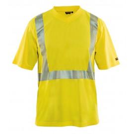 T-shirt Haute-Visibilité Jaune 3386 Blaklader