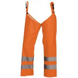 Guêtre de pantalons haute visibilité Orange 1385 Blaklader