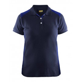 Polo Femme Marine/Bleu Roi 3390 Blaklader