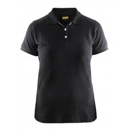 Polo Femme Noir 3390 Blaklader