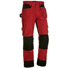 Pantalon artisan bicolore Rouge/Noir 1503 Blaklader