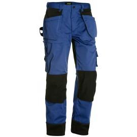 Pantalon artisan bicolore Bleu roi/Noir 1503 Blaklader