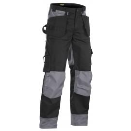 Pantalon artisan bicolore Noir/Gris 1503 Blaklader