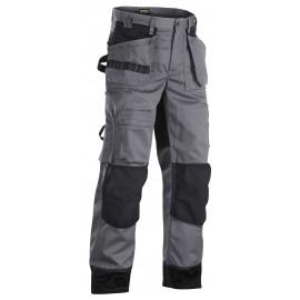 Pantalon artisan+ bicolore Gris/Noir 1504 Blaklader