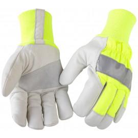 Gant haute visibilité hiver Scotchlite® Jaune/Gris 2240 Blaklader