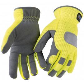 Gant haute visibilité hiver Scotchlite® Jaune/Gris 2242 Blaklader