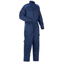 Combinaison Industrie manches longues Marine/Bleu roi 6054
