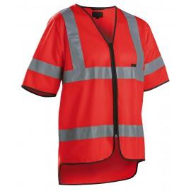 Baudrier haute visibilité Rouge fluo 3023