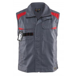 Gilet sans manches Industrie Gris/Rouge 3164 Blaklader