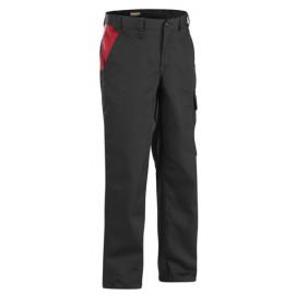 Pantalon Industrie Noir/Rouge 1404 Blaklader