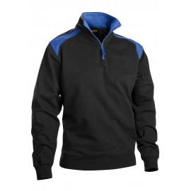 Sweat camionneur Noir/Bleu Barbeau 3353 Blaklader